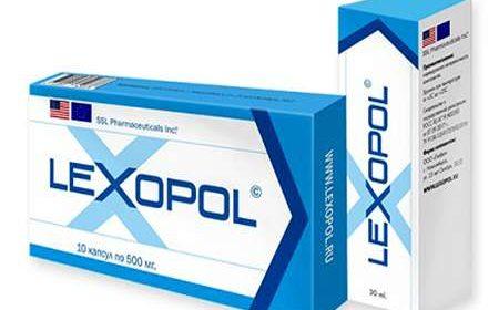 Лекарство и спрей Лексопол для потенции
