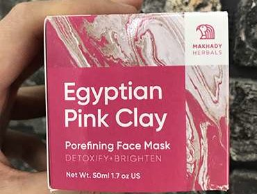 Маска Egyptian Pink Clay для лица.